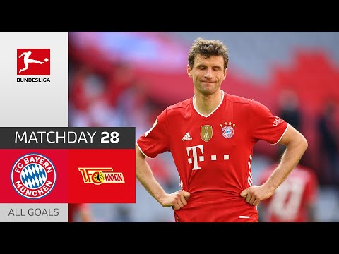 Bayern gives away victory against Union   FC Bayern – Union Berlin   1-1   All Goals   MD 28 – 20/21
