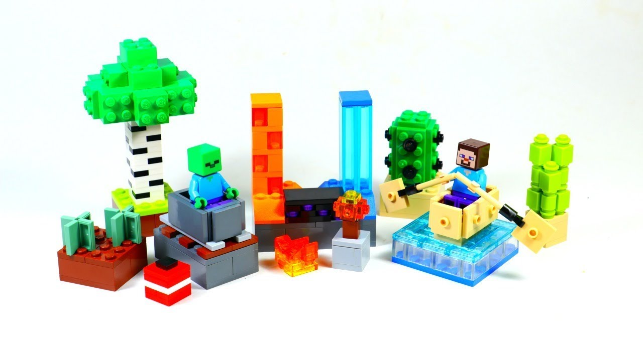 Top 10 LEGO Minecraft Ideas