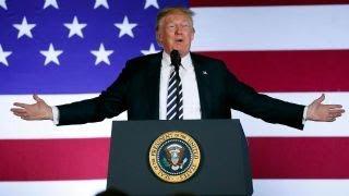Trump slams Obama over GDP growth
