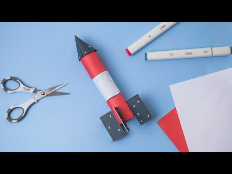 Create Your Own Space Rocket! - Ellison Education