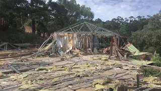 Demolition In Willunga - Nathan Thomas Carpenter Builder Mclaren Vale - New Home Builder