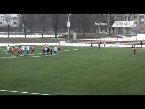 Bramka ze sparingu Polonia Warszawa - Stomil Olsztyn 0:1