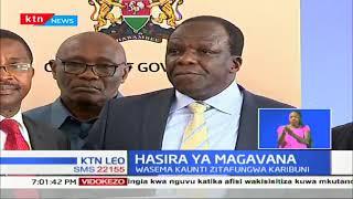 Magavana wanatishia kufunga kaunti zote nchini iwapo utata ulioppo kuhusu  wa fedha hutatatuliwa