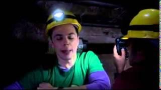 "Sheldon Cooper ""Dark as a dungeon"""