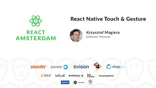 Transcript for React Native Touch & Gesture by Krzysztof · Eventil
