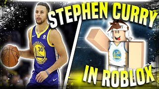 STEPH CURRY IN ROBLOX! ALLSTAR SHOOTING DEEP 3S!