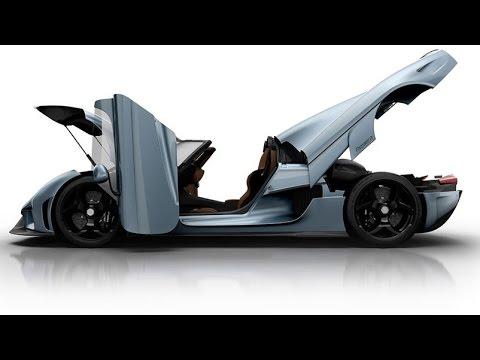 Koenigsegg Regera – Launch rendering