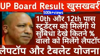 उत्तर प्रदेश स्टूडेंट्स लैपटॉप योजना/ UP Board Result 2019/up Board Result Download/ Up Board Result