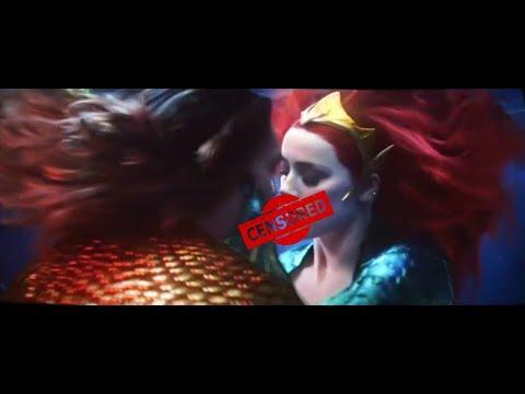 Kissing Scene Aquaman HD (Mera and Arthur)