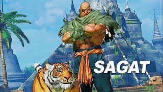 SMUG THINKS SAGAT IS TOP 10 IN SFV!