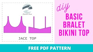 DIY Basic Bralet Top (Jace Top) With FREE PATTERN! | Katie Fredrickson