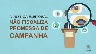 A justiça eleitoral deve fiscalizar promessas de campanha?