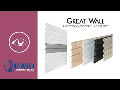 1' X 4' White Greatwall Panel 8 Pieces Per Box