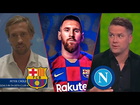 Barcelona vs Napoli 3-1 Messi Knock Out Gattuso To Reach The Quarter-Finals🔥 Michael Owen Analysis