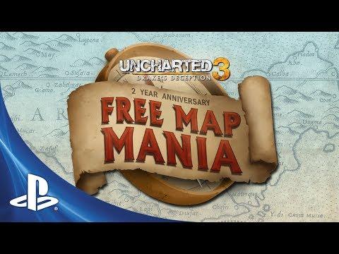 Uncharted 3: Drake's Deception slaví 2 roky všemi DLC mapami zdarma