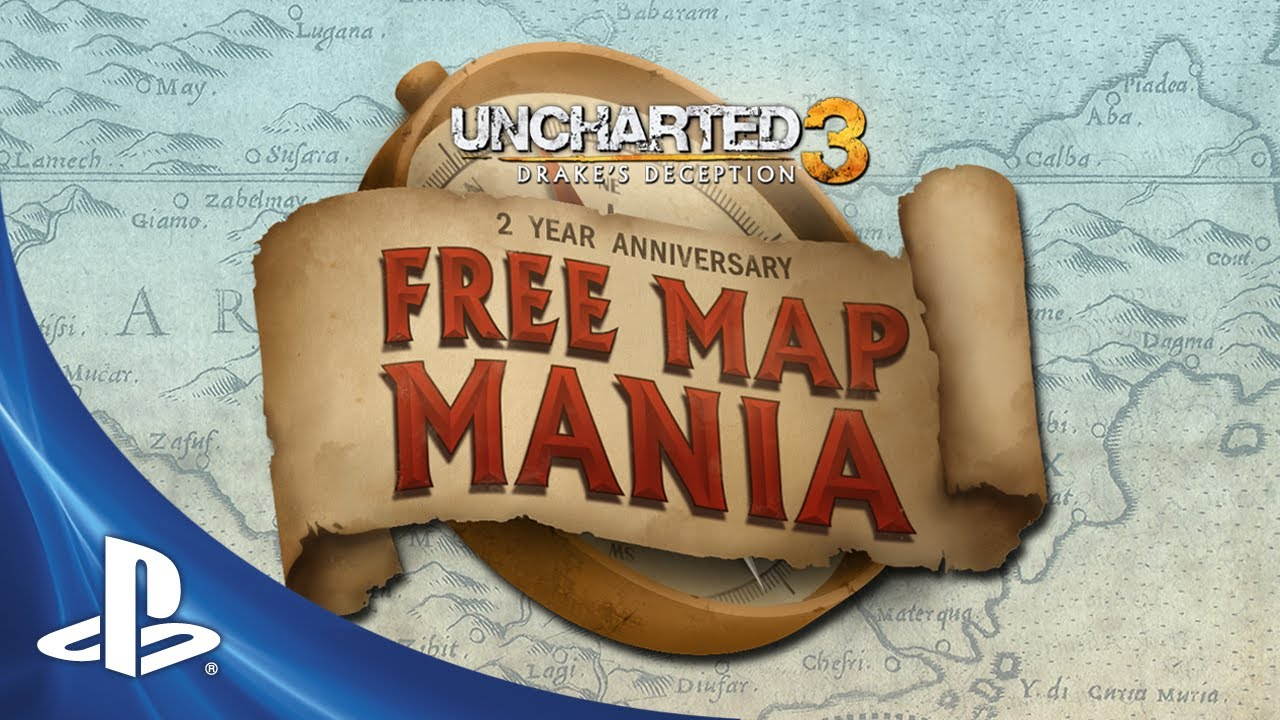 Uncharted 3 Celebrates Two-Year Anniversary with a New Map