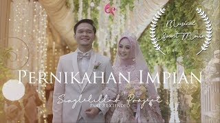 Project ini merupakan part tambahan dari Film Pendek Musikal - Singlelillah Project Part 3 Ta'aruf  Masih berkisah tentang perjalanan menggapai Cita & Cinta Alik Nugraha & Nisa Aulia  Jangan lupa like share comment & subscribe yaaa karena Singlelillah Project masih akan terus berlanjut menuju Part 4: Tua Bersamamu  Dan bagi yang baru tahu Singlelillah Project  bisa menonton juga :  Part 1 - Singlelillah : https://youtu.be/d1KBv4xHU9k Part 2 - Mencintai Kehilangan: https://youtu.be/xIV0Fh7GWS0 Part 3 - Ta'aruf: https://youtu.be/gs_k5cNyaD8 Extended Part 3 - Khitbah: https://youtu.be/jxivPStx2_g  Credit   Produser : Abay Adhitya Director : Wildan Tauhid, Abay Adhitya & Argin Hasta Screenplay/Scripwriter: Abay Adhitya  Sinematografer Wildan Tauhid Hijaz Pictura Muklis Hafiz  MUA: Fufu  Logistik & Artistik: NM Rizal, Erna Secha  Cast Anisa Rahma as Nisa Aulia Anandito Dwis as Alik Nugraha Erna Secha as Neneng Mama Anandito Dwis as Mama Alik Belinda Ermafina as Mama Alik Muda Syafik as Alik Kecil  Song & Music: Singlelillah, Vocal & Composer by Abay Adhitya, Music by Risky Ares  Kaulah Bidadari Surga, Vocal by Edelweis Project, Composer: Abay Adhitya, Music by Fey Rasha  Pernikahan Impian, Vocal by Anisa Rahma & Anandito Dwis, Composer Abay Adhitya, Music by YODA  Thanks to Anisa Rahma Management Hijaz Pictura  Untuk sahabat yang ingin mendaftar Seminar Pra Nikah Teladancinta x Teladanrasul:  Lampung, Minggu 25 November 2018 DAFTAR via SMS/WA: Pra Nikah Lampung + Nama + Usia + Email ke 0895422658502  Bandung, Minggu 16 Desember 2018 DAFTAR via SMS/WA: Pra Nikah Bandung + Nama + Usia + Email ke 089663284862  Untuk para Singlelillah yang ingin belajar menggapai Cita dan Cinta seperti Alik & Nisa bisa bergabung di Singlelillah Academy: http://singlelillah.com/