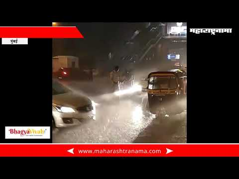 Mumbai Traffic Police Serving in Heavy Rain – Duty First