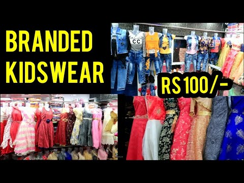 Kidswear wholesale market in Delhi frock desing for girls frock wholesale market in Delhi