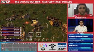 IDRL Stay@Home Championships S2Ep03 Live - Udd Da Punjab vs Kalinga Krakens
