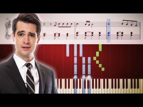 TURN OFF THE LIGHTS (Panic! At The Disco) - Piano Tutorial