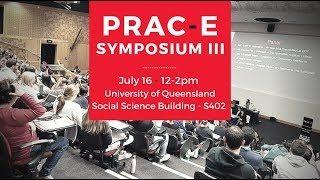 PRAC-E SYMPOSIUM III - Announcement