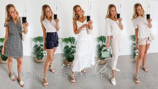 5 MUST-HAVE SPRING/SUMMER OUTFITS 2020!   H&M, New Look, Zara + More!