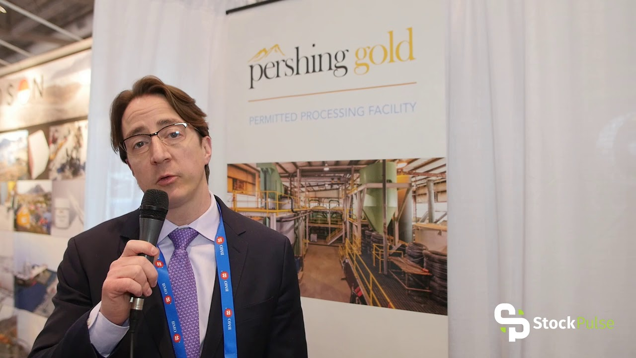 Pershing Gold Catalyst Clip with VP of Investor Relations Jack Perkins at the 2018 PDAC in Toronto