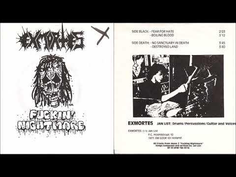 Exmortes [NLD] [Raw Black/Noise] 1989 - Fuckin' Nightmare (Full EP)