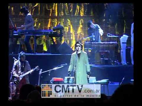 Charly García video Rock and roll yo - Luna Park agosto 2012