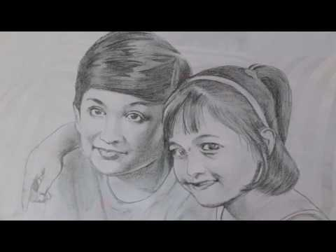 Uppum Mulakum Pencil Drawings│Flowers