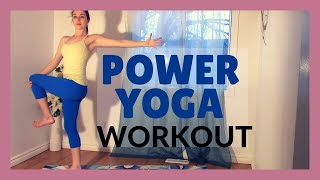 Power Yoga Flow - Total Body Workout 30 min Class by Yoga with Kassandra