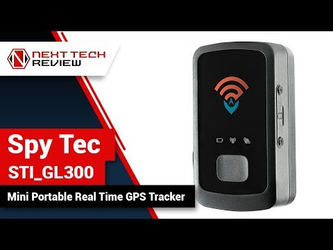 Spy Tec STI GL300 Mini Portable Real Time GPS Tracker Product Review  – NTR