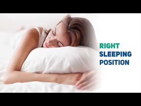 Right Sleeping Position - Get Over With Your Spinal Problems
