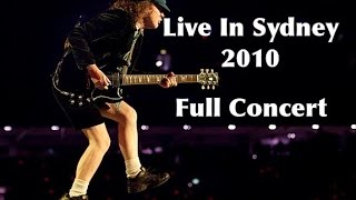 AC/DC - Live In Sydney Australia Feb 20th, 2010 Full Concert [1080p HD]