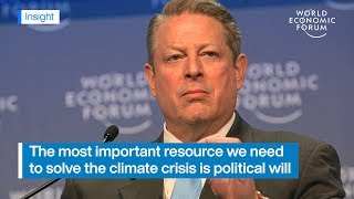 Al Gore: Political will is a renewable resource