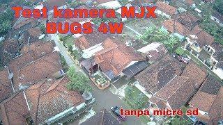 Test camera drone MJX BUGS 4W tanpa MICRO SD