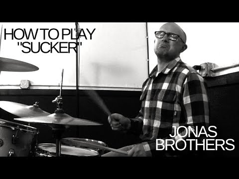 """In this video you will learn the secrets to play the Jonas Brothers hit song """"Sucker"""" on the drumset."""