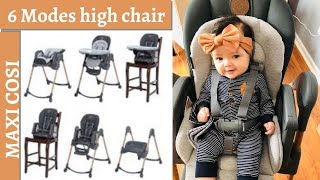 Maxi-Cozi Minla 6-in-1 Highchair   unboxing   review.