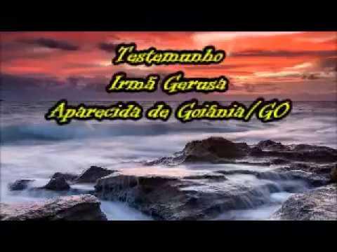 Testemunho - Irmã Gerusa - Aparecida de Goiânia/GO