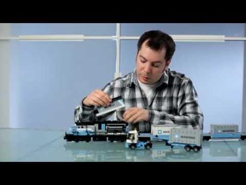 LEGO Maersk trein 10219