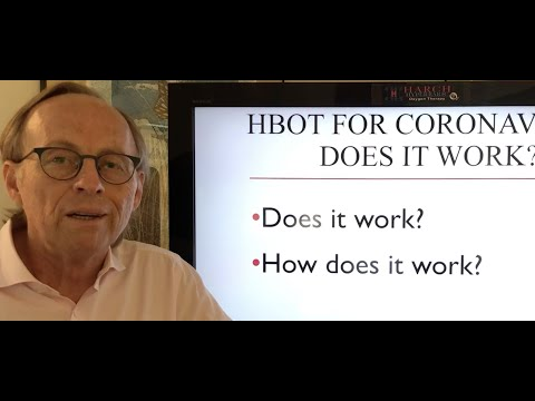 HBOT in Coronavirus Infection- How it Works: Dr. Paul G Harch explains how HBOT treats the underlying cause of the low oxygen levels in the lungs of dying coronavirus patients.