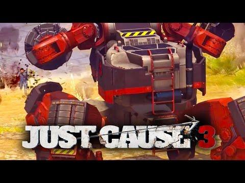 Just Cause 3 - Mech Land Assault Trailer thumbnail
