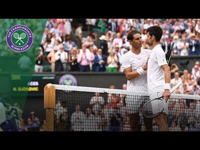 Epic match: Djoko vs Rafa. Wimbledon 2018