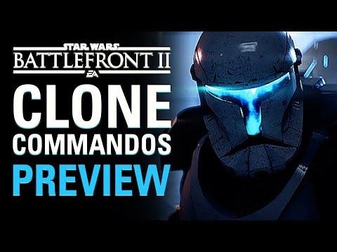 Preview: Clone Commandos | Star Wars Battlefront II