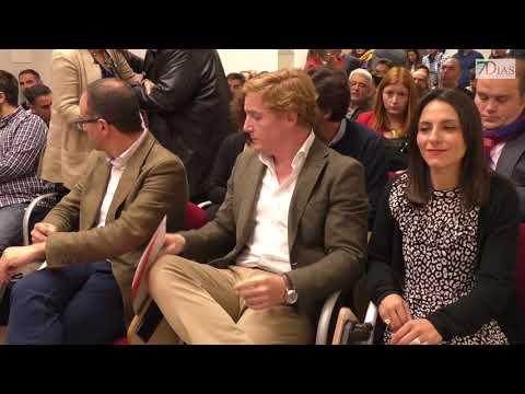 PRESENTACIÓN DE LOS CANDIDATOS DE CIUDADANOS AL AYUNTAMIENDO DE BADAJOZ Y AL CONGRESO
