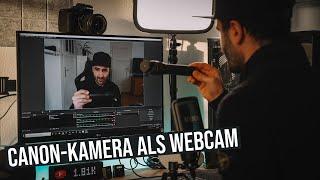Canon Kamera kostenlos als Webcam nutzen   Canon Webcam Utility Deutsch