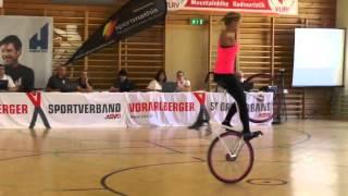 Woman shows off her insane bike skills!