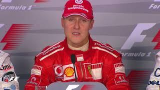 F1 Archive: Michael Schumacher Announces Retirement At Monza In 2006