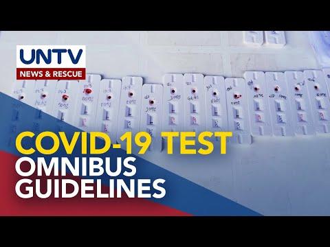 [UNTV]  Guidelines para sa paggamit ng COVID-19 test kits, ilalabas ng DOH sa susunod na linggo